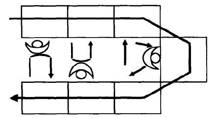 电路 电路图 电子 简笔画 手绘 线稿 原理图 443_242